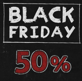 Black Friday 50% de descompte